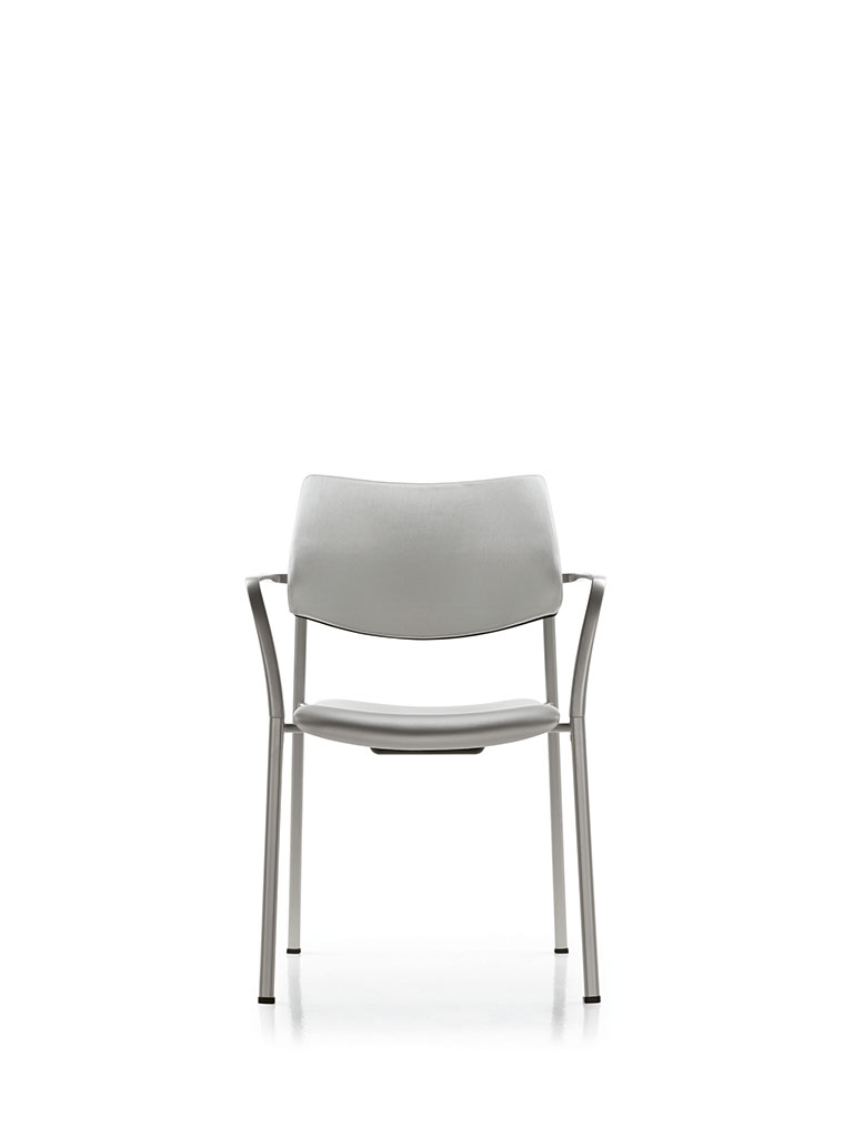 Branka by AKABA | gray | upholstered seat
