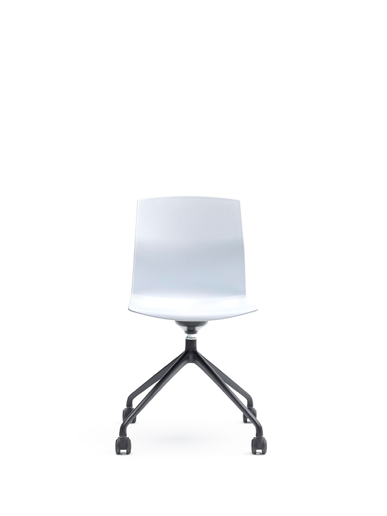 Kabi Swivel by AKABA | swivel chair with castors | not upholstered