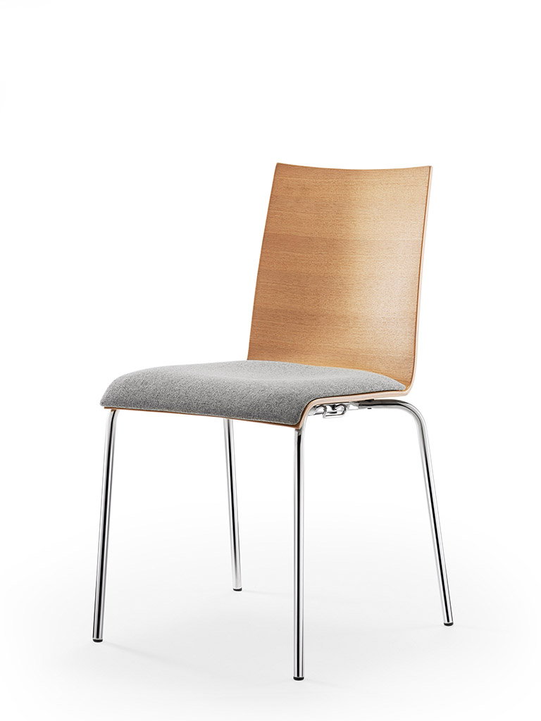 aticon | upholstered seat | oak