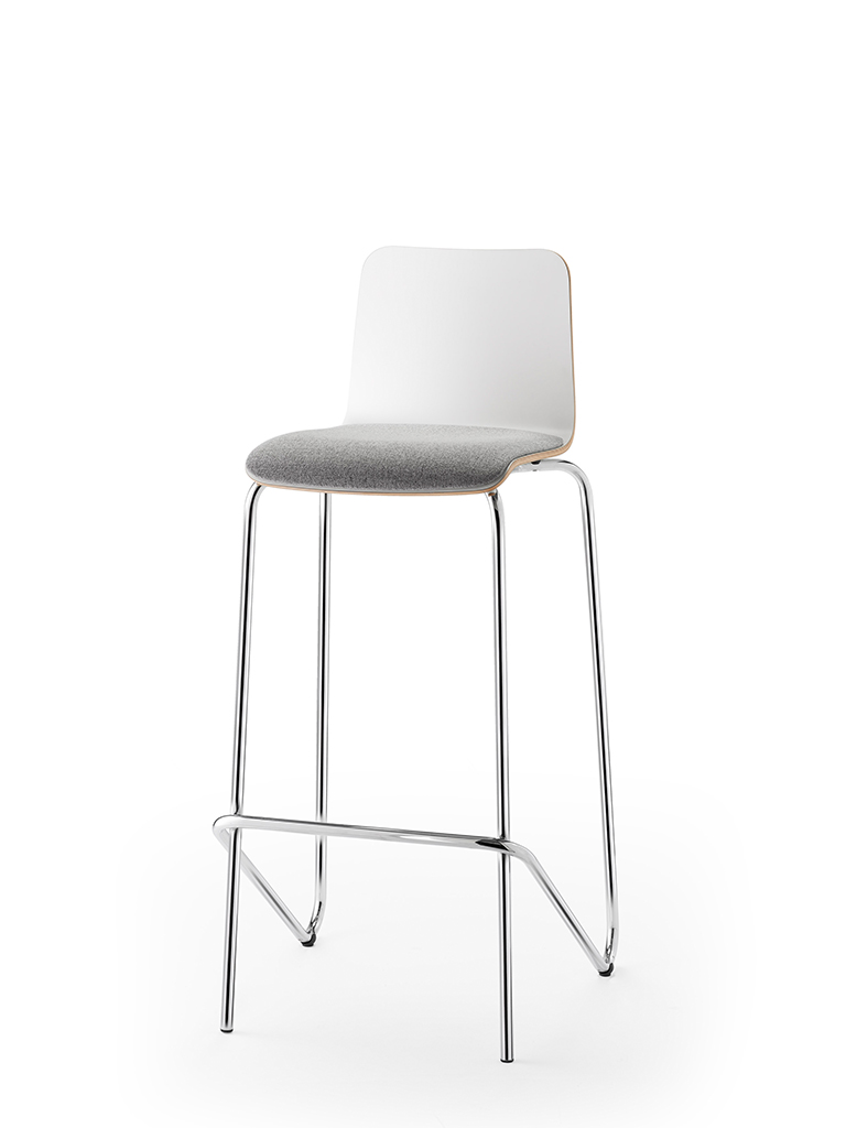 aticon | barstool | upholstered seat