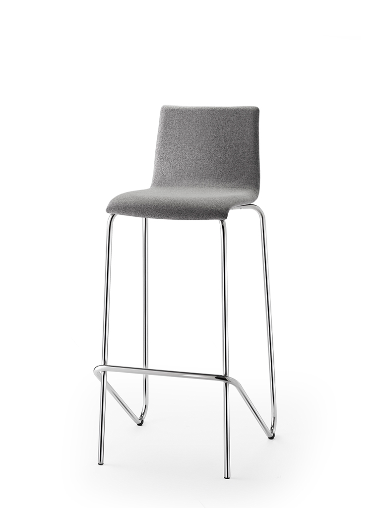 aticon | barstool | fully upholstered