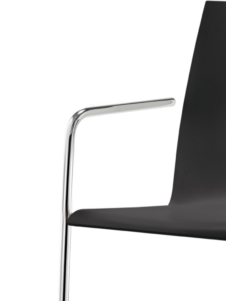 logochair swing | cantilever chair | armrest 442 without backrest bracket