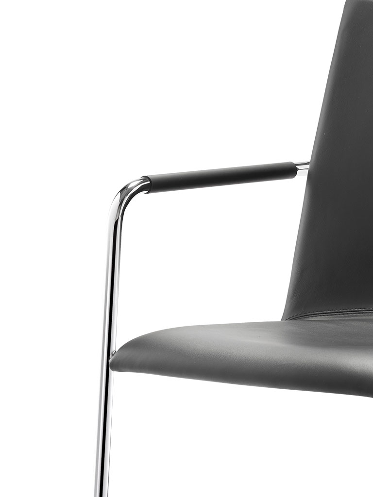 logochair swing | cantilever chair | armrest 443 with backrest bracket