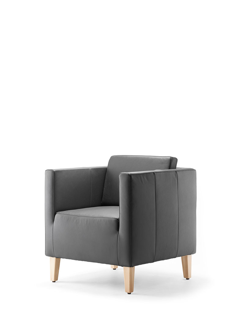 ultimo | armchair | with back cushions