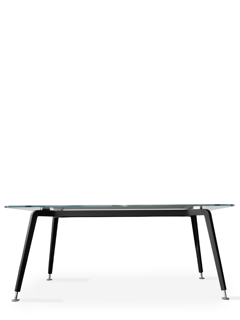 CQ table | Daniel Korb | Conferencing table | frame black powder coated