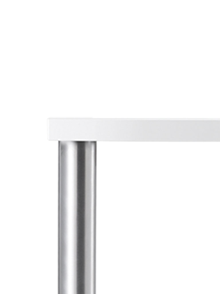 tabula light 2010 | metal bracket recessed in table top