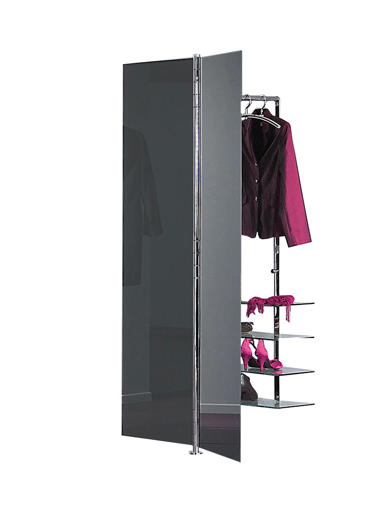 D-TEC | ALBATROS 7 | wall-mounted coat rack system | anthracite