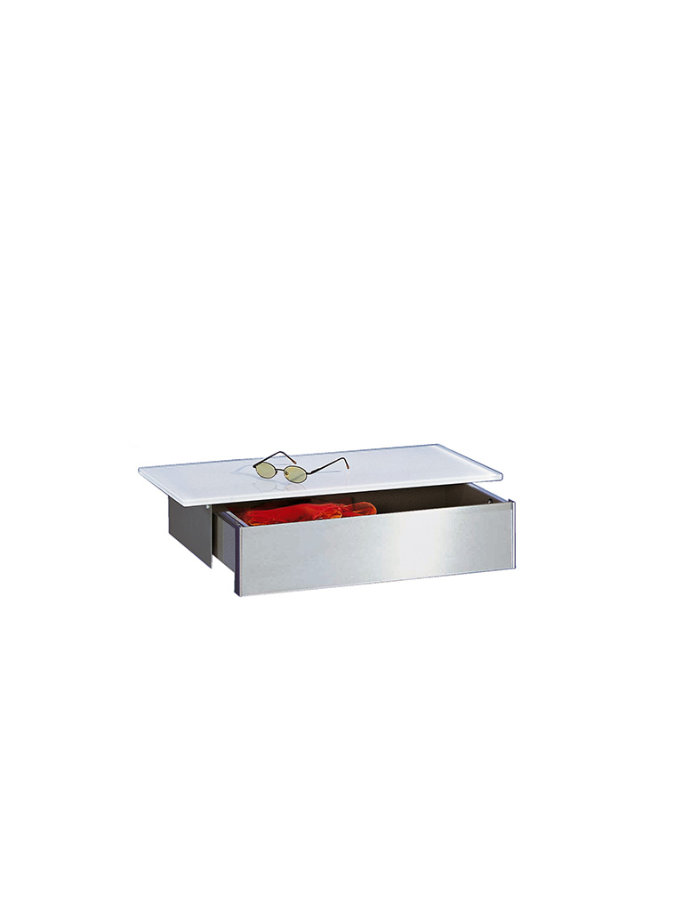D-TEC | MISS T | wall shelf | drawer | file white | 541-ew
