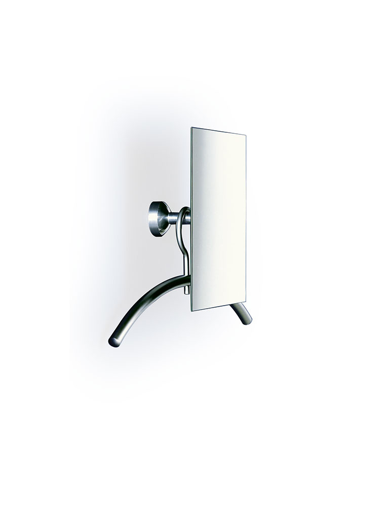 D-TEC | SKYLAB 1 | wall-mounted coat rack with adjustable square mirror