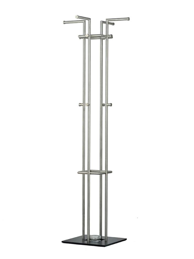 D-TEC | STAG 4 coat stand | stainless steel | 874-e1