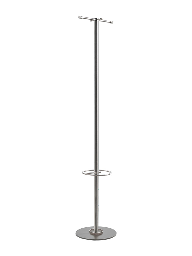 D-TEC | TIM S | coat stand with umbrella holder | stainless steel | ST116S-e