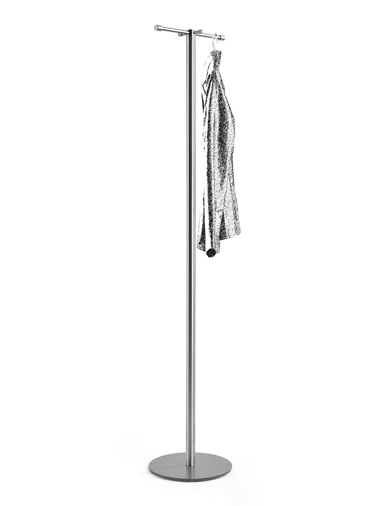 D-TEC | TIM | coat stand | stainless steel | ST116-e