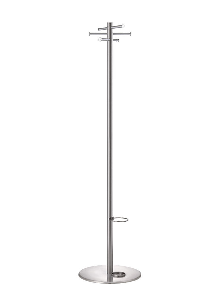 Torre 3933 E | coat rack | stainless steel | with umbrella fitting