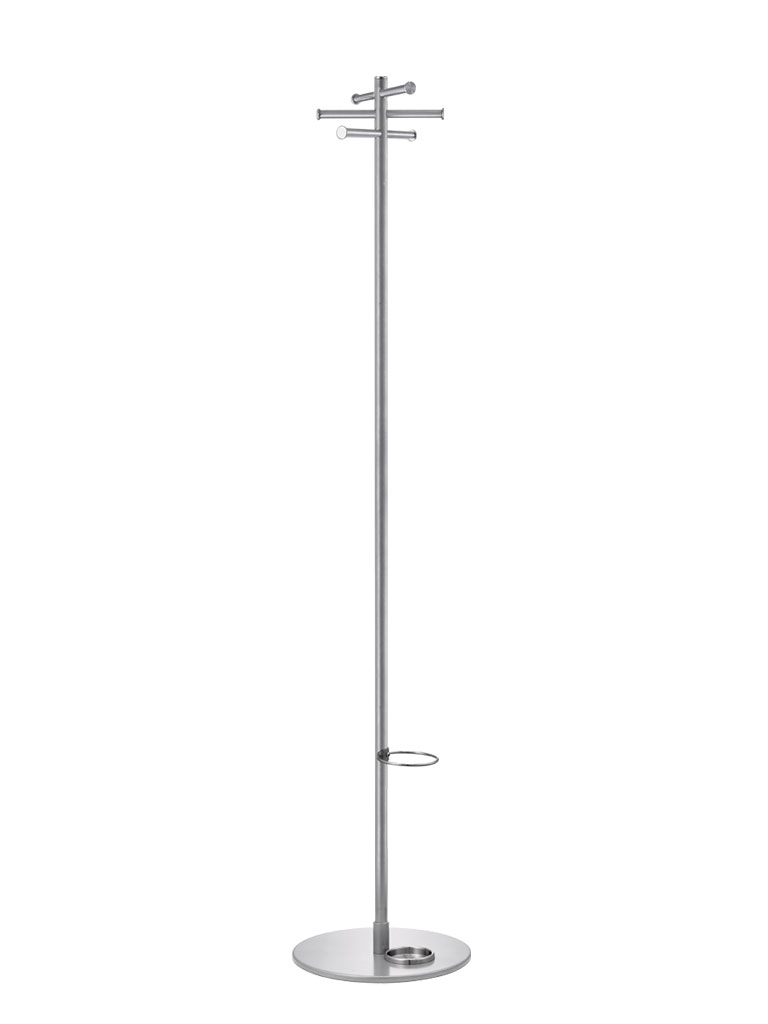 Torre 3943 E | coat rack | stainless steel | with umbrella fitting