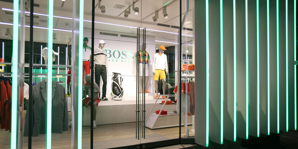 HUGO BOSS SHOWTRUCK